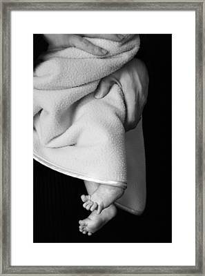 Tootsies Framed Print by Angela Rath