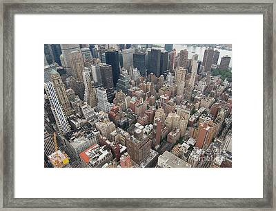 Top Framed Print by Alexa Gurney