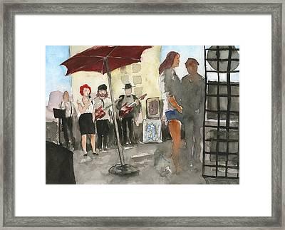 Top Artist Showcase Framed Print