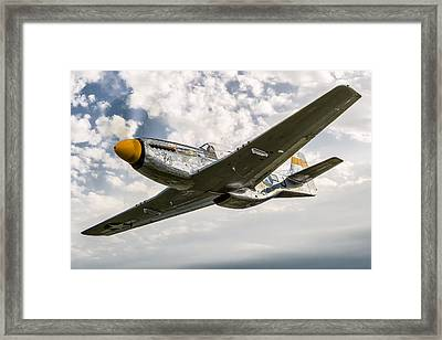 Top Cover Framed Print by Jay Beckman