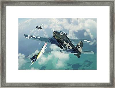 Top Cover Framed Print