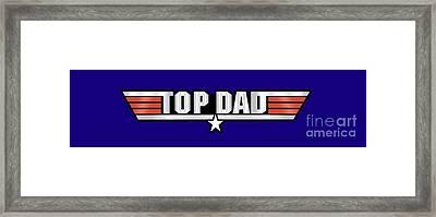 Top Dad Callsign Framed Print by Fernando Miranda