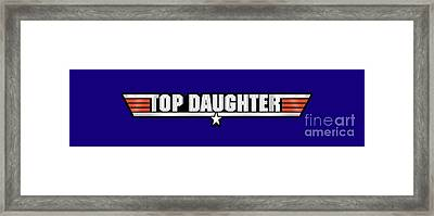 Top Daughter Callsign Framed Print by Fernando Miranda
