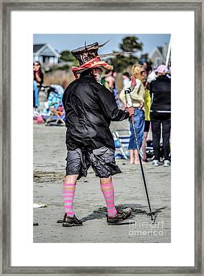 Top Hat Framed Print