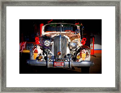 Top Model On Route 66 Framed Print