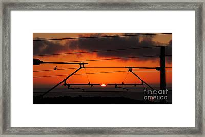 Framed Print featuring the photograph Top Notch Spot by Linda Hollis
