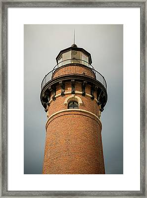 Top Of Little Sable Point Lighthouse Framed Print