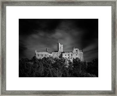 Top Of St Michaels Mount Framed Print