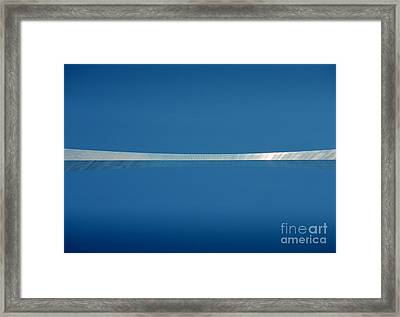 Top Of The Arch Framed Print