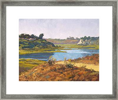 Top Of The Back Bay Framed Print