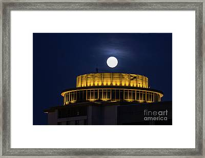 Top Of The Capstone Framed Print