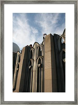 Top Of The City Framed Print by Jeff Porter