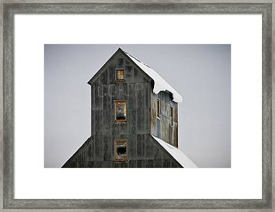 Top Of The Co-op Framed Print
