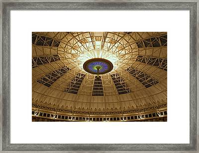 Top Of The Dome Framed Print by Sandy Keeton