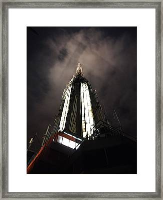 Top Of The Empire Framed Print by Chris Ann Wiggins