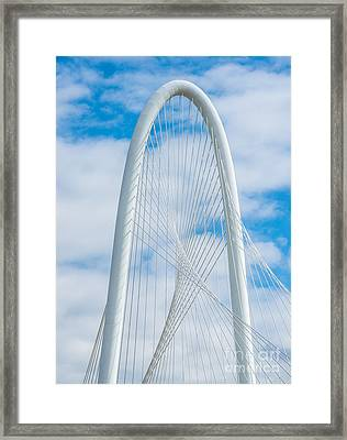 Top Of The Hunt Hill Bridge Framed Print by Tod and Cynthia Grubbs