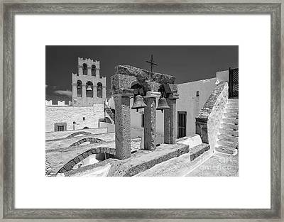 Top Of The Monastery Framed Print