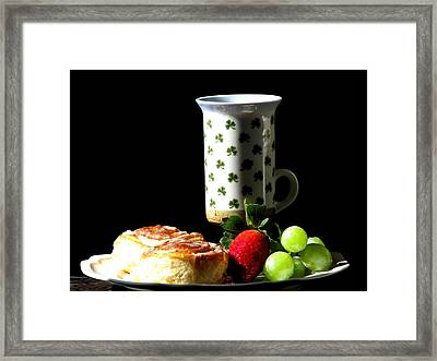 Top Of The Morning Framed Print by Angela Davies