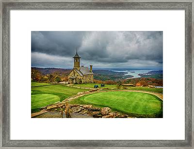 Top Of The Rock Branson Mo 7r2_dsc2627_16-11-25 Framed Print