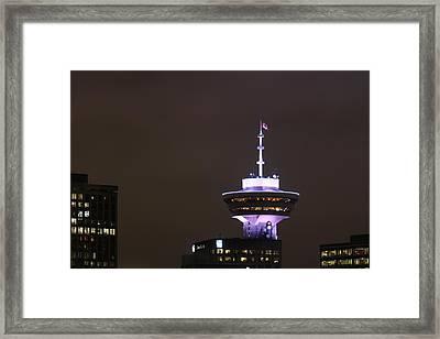 Top Of Vancouver Restaurant Framed Print