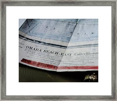 Top Secret - Omaha Beach Framed Print