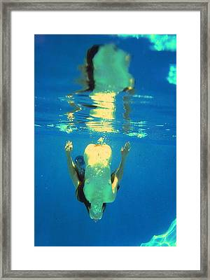 Nude Topaz Framed Print by Randy Sprout