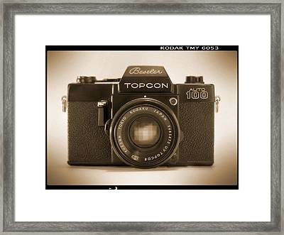 Topcon Auto 100 Framed Print by Mike McGlothlen