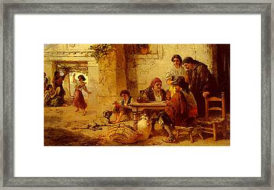 Topham Frank William Warwick Spanish Amusements Framed Print