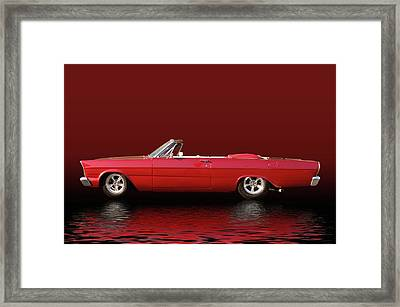 Topless Galaxie Framed Print
