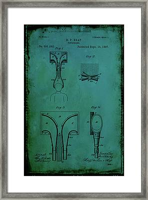 Topophone Patent Drawing 1d Framed Print by Brian Reaves