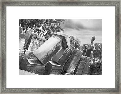 Toppled Dreams Framed Print