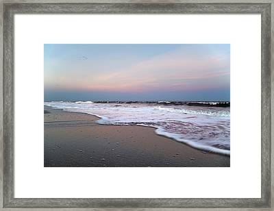 Topsail Dome-esticated Evening Framed Print by Betsy Knapp