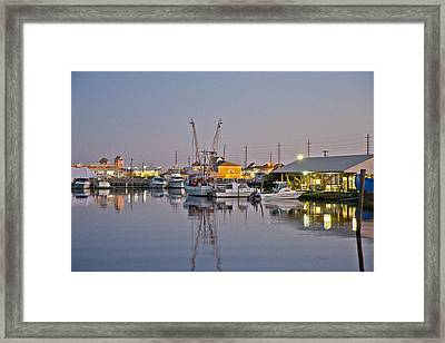 Topsail Island Nc Sound Framed Print