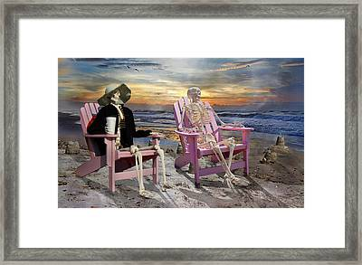 Topsail Tales Framed Print