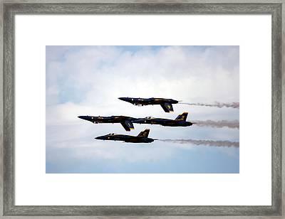 Topsy Turvy Framed Print by Michael Courtney