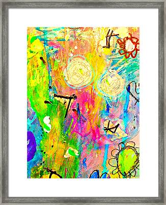 Tori And Me 2 Framed Print by Shelley Graham Turner