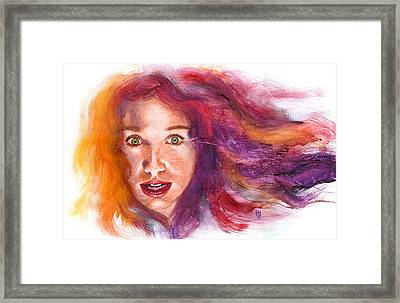 Tori Rainbow Framed Print by Ken Meyer jr