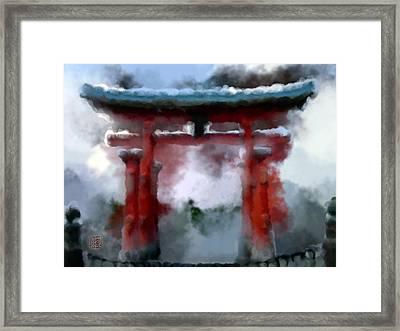Torii Framed Print