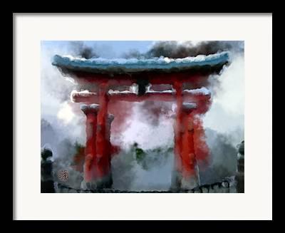 Miyajima Framed Prints