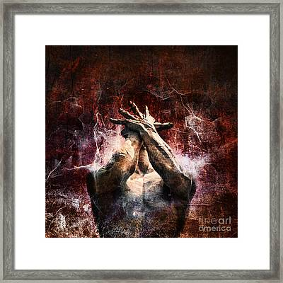 Torment Framed Print by Andrew Paranavitana