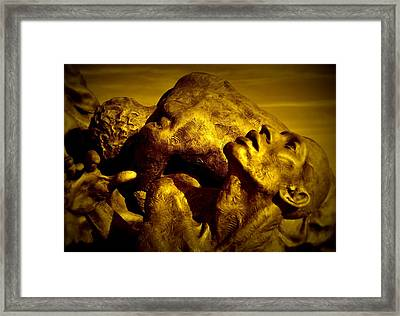 Torment Framed Print by James DeFazio