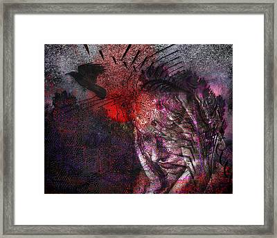 Torment Framed Print by Mimulux patricia no No