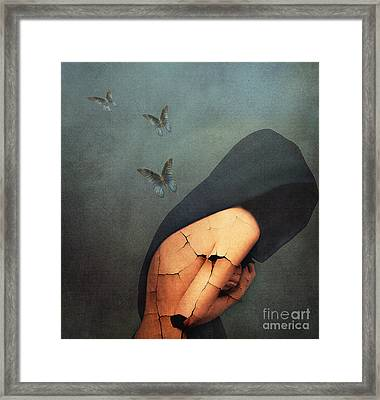 Torment Framed Print by Jacky Gerritsen