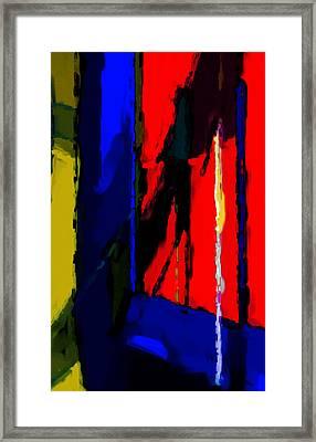 Torment Framed Print by Richard Rizzo