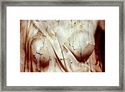 Torn Body Framed Print by Munir Alawi