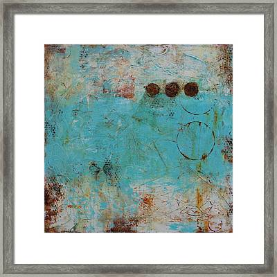 Torn Down Framed Print
