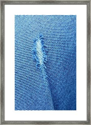 Torn Jeans  Framed Print by Rob Hans