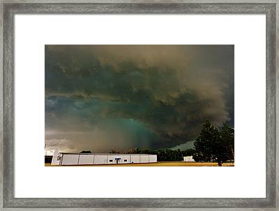 Tornadic Supercell Framed Print by Ed Sweeney