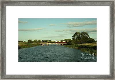 Tornado On The Levels  Framed Print by Rob Hawkins