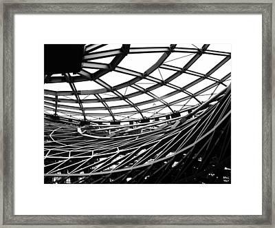 Tornado Skeleton - 2 Of 5 Framed Print by Alan Todd